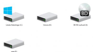 Bild von DVD-Laufwerk im Netzwerk freigeben und im Netzwerk nutzen