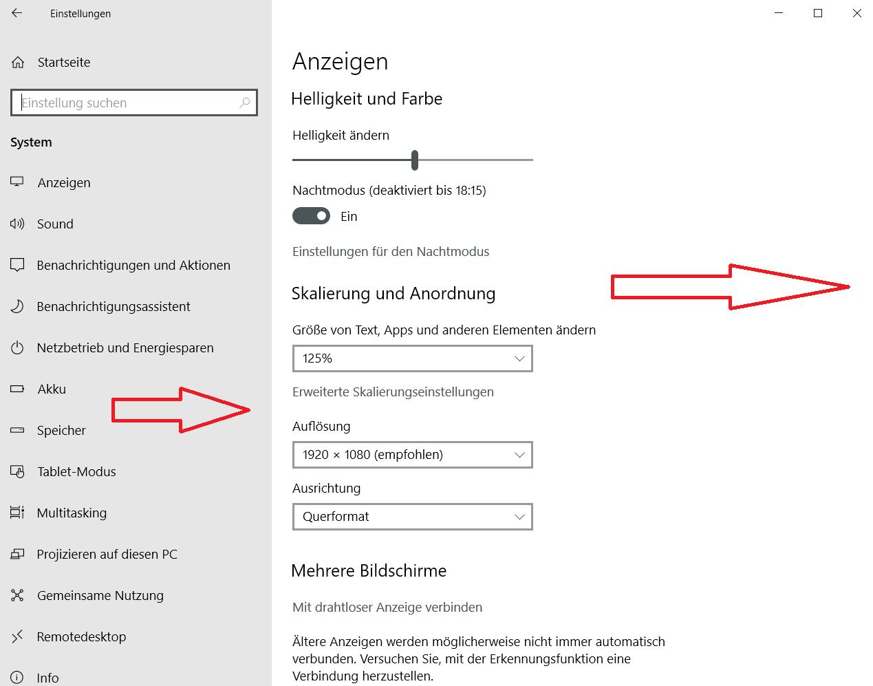 ohne scrollleisten - Windows 10 Scrollleisten in den Einstellungen und Apps immer anzeigen
