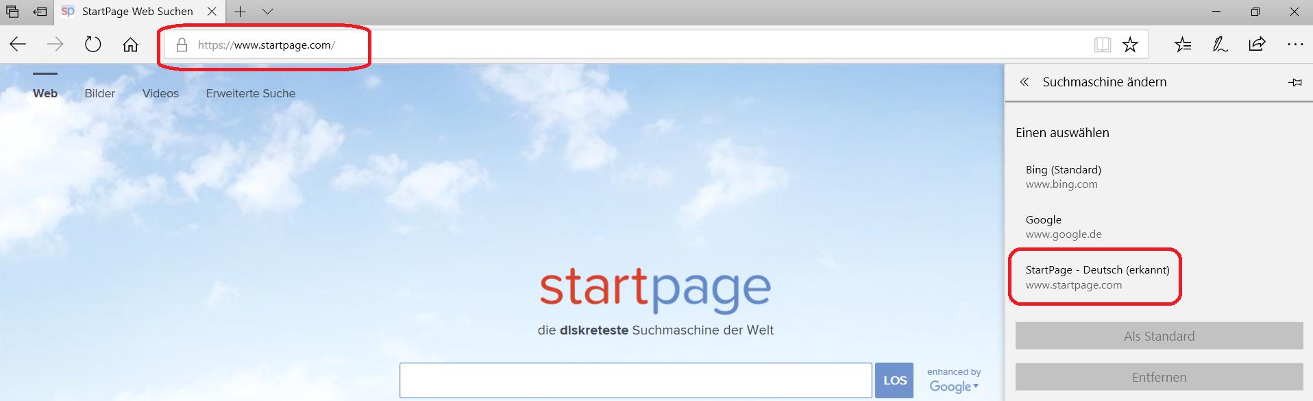 startpage-erkannt