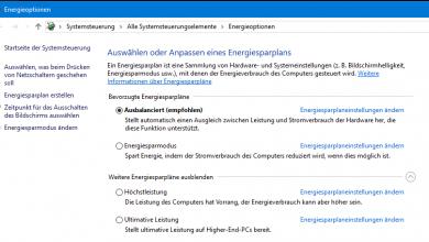Bild von Windows 10 Höchstleistung aktivieren