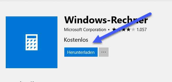 windows rechner installieren - Windows 10 Taschenrechner startet, funktioniert nicht - Lösung