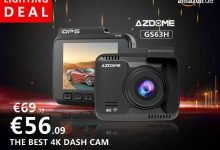 "6.23 dash cam lighting deals 1 220x150 - AZDOME 4k Dashcam WIFI GPS 2160P 4K/30FPS Wasserdicht mit 2,4"" DIsplay für 56,09 € statt 69,99 € – Nur Heute"