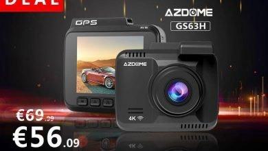 """6.23 dash cam lighting deals 1 390x220 - AZDOME 4k Dashcam WIFI GPS 2160P 4K/30FPS Wasserdicht mit 2,4"""" DIsplay für 56,09 € statt 69,99 € – Nur Heute"""