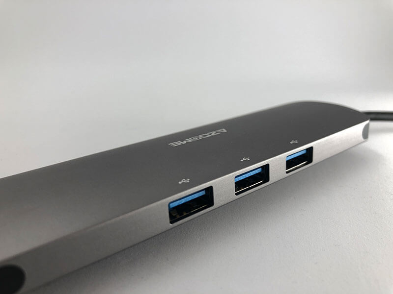 9 in 1 usb 3.1 hub azdome aluminium jf32 - Azdome USB C Hub (9 in 1) USB C Adapter 3.1 ausprobiert