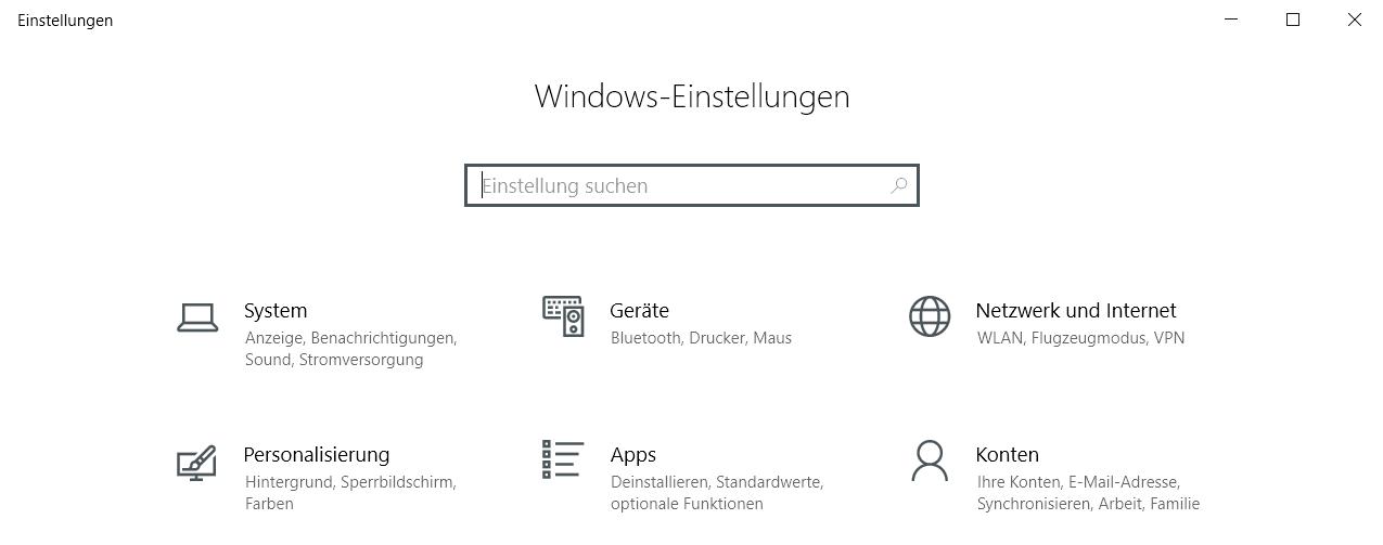 einstellungsfenster ohne eintrag - Windows 10 Eintrag Telefon unter Einstellungen entfernen