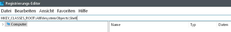 wert in suche 1 - Windows 10 Dateien endgültig löschen