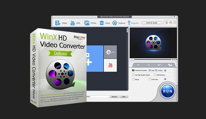 WinXHD VideoConverterDeluxe