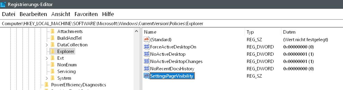 zeichenfolge erstellt 1 - Windows 10 Eintrag Telefon unter Einstellungen entfernen