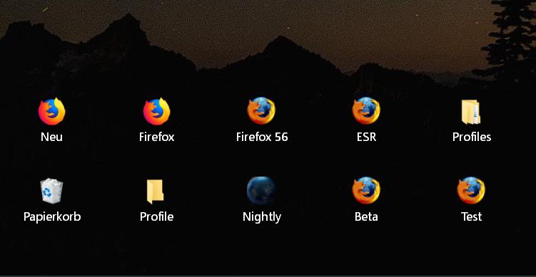 breiter abstand - Windows 10 Abstand der Icons auf dem Desktop ändern