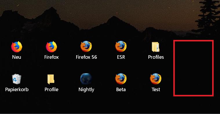 schmaler abstand - Windows 10 Abstand der Icons auf dem Desktop ändern