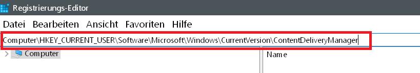 Windows 10 Automatische Installation von Apps verhindern 3