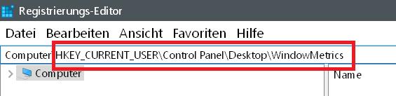 suche eingeben - Windows 10 Abstand der Icons auf dem Desktop ändern