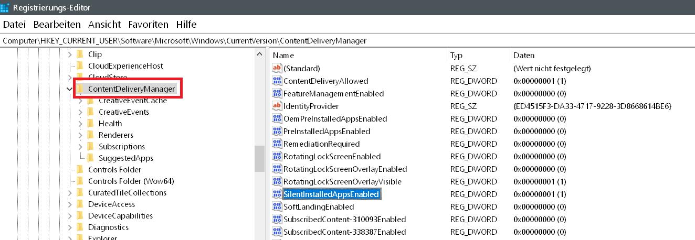 Windows 10 Automatische Installation von Apps verhindern 4