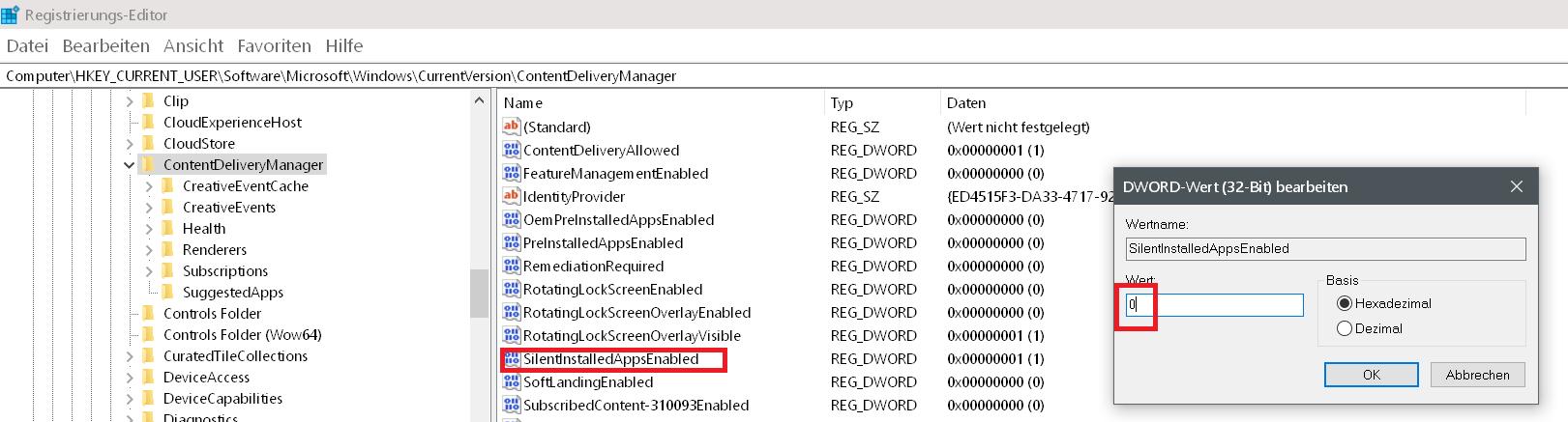 Windows 10 Automatische Installation von Apps verhindern 5