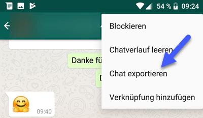 WhatsApp Chat mit Android sichern