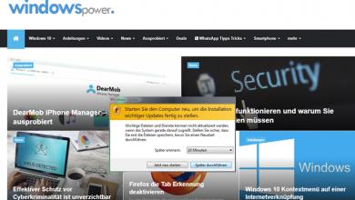 333 390x220 - Windows 7/10 Update Schleife deaktivieren