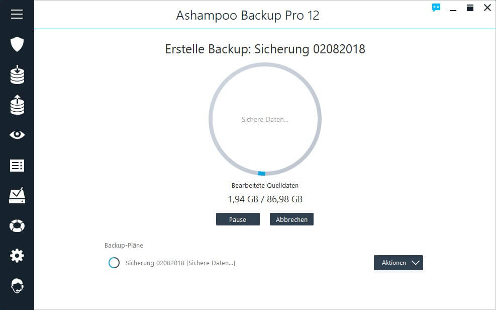 backups-stellen