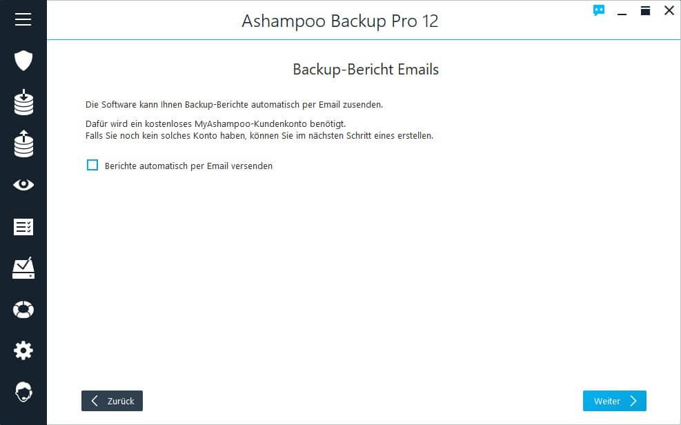 Berichte automatisch per E-Mail versenden