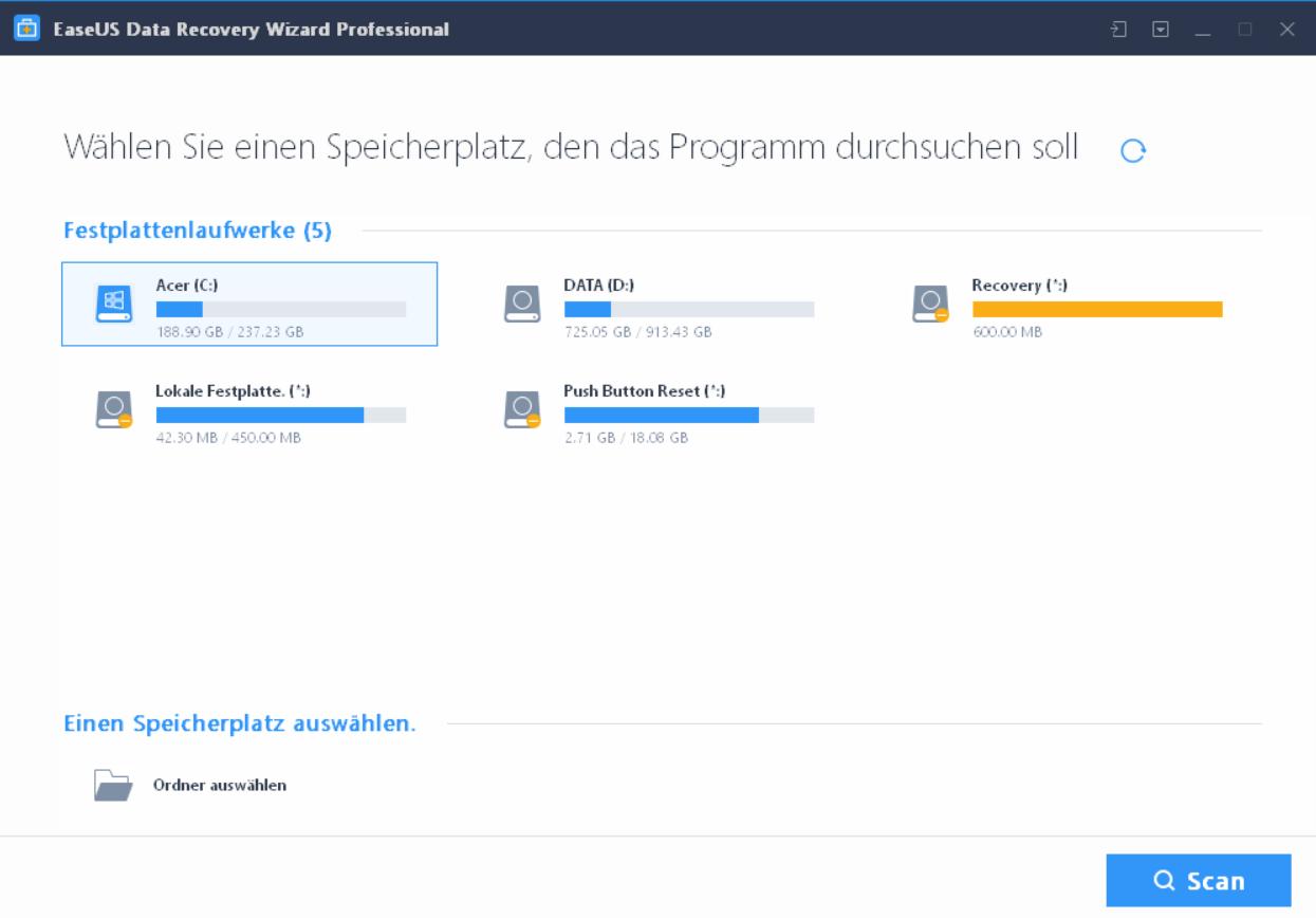 forenbild - EaseUS Data Recovery Wizard 12.6 ausprobiert - Wir verlosen 5 Lizenzen