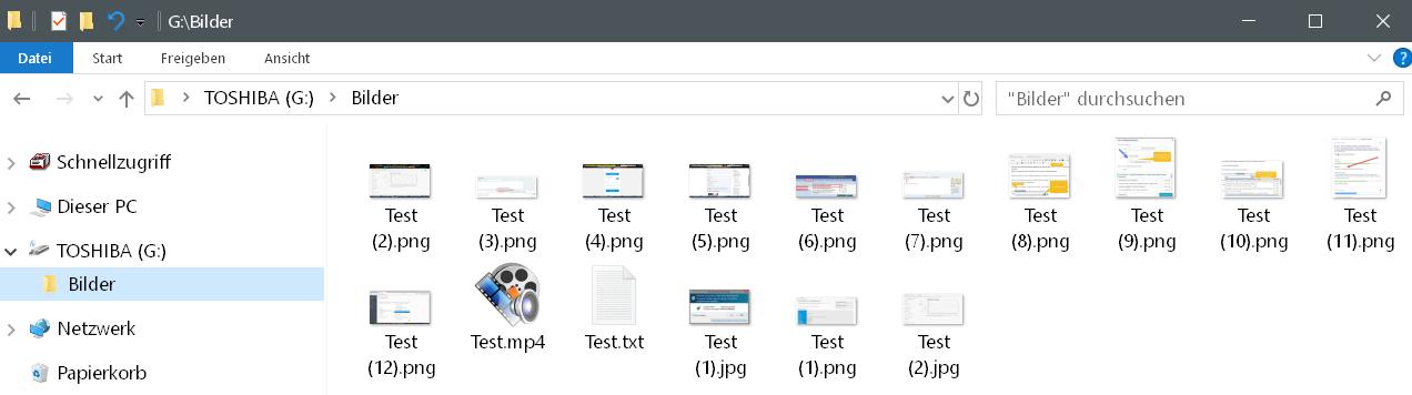 inhalt ordner bilder - EaseUS Data Recovery Wizard 12.6 ausprobiert - Wir verlosen 5 Lizenzen