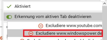script deaktivieren auf dieser seite - Firefox die Tab Erkennung deaktivieren