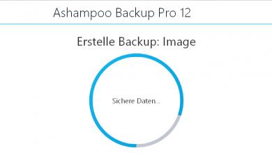 startbild 390x220 - Ashampoo Backup Pro 12  Datensicherung - mein erster Eindruck