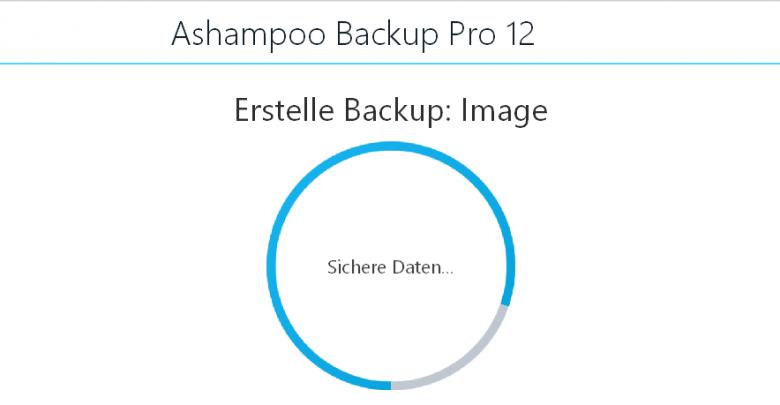 startbild 780x405 - Ashampoo Backup Pro 12  Datensicherung - mein erster Eindruck