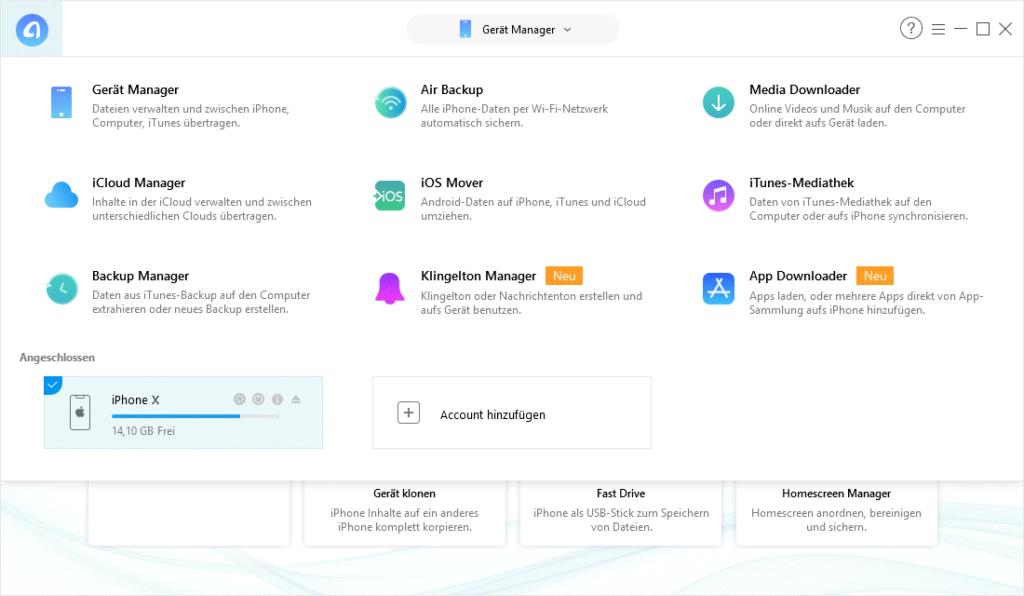 anytrans 1024x596 - iOS Manager AnyTrans 7 erschienen – Wir verlosen 5 Lizenzen