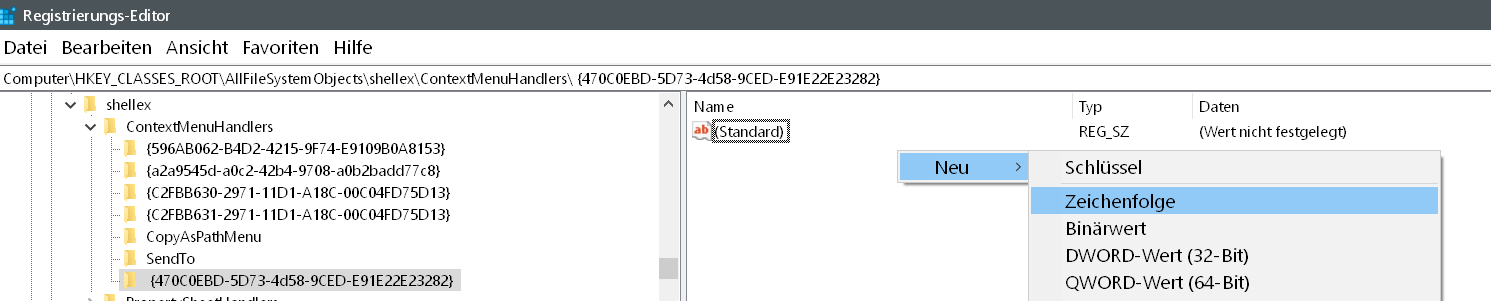 470c0ebd 5d73 4d58 9ced e91e22e23282 zeichenfolge erstellen - Dateien als Kachel an das Startmenü anheften