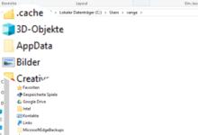 Photo of AppData Ordner beiWindows 10 anzeigen einblenden