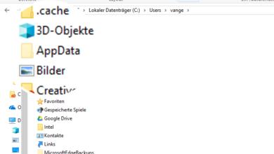 appdata einblenden 390x220 - AppData Ordner beiWindows 10 anzeigen einblenden