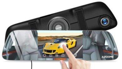 dual kamera auto rueckspiegel 390x220 - AZDOME PG-01 Dashcam Rückspiegel ausprobiert