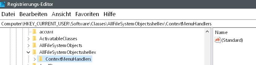 handlers - Dateien als Kachel an das Startmenü anheften