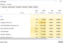 Photo of Task-Manager mit Tastenkombination öffnen bei Windows 10