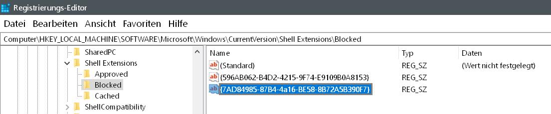 zeichenfolge erstellt - Wiedergabe auf Gerät entfernen Windows 10