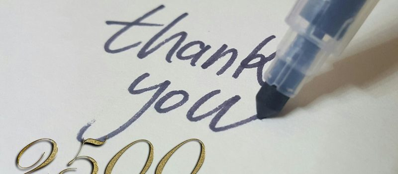 calligraphy 2658504 1920 800x350 - 2.500 Abonnenten! WindowsPower sagt DANKE!