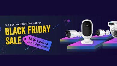 reolink black friday 390x220 - Reolink Black Friday 15% Rabatt & Extra Gutscheine