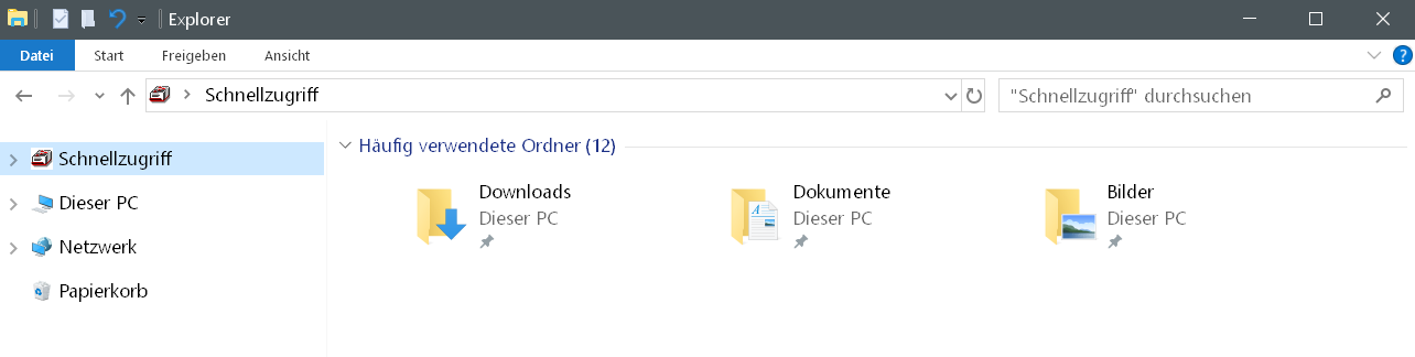 schnellzugriff ohne laufwerke - Laufwerke im Schnellzugriff anzeigen Windows 10