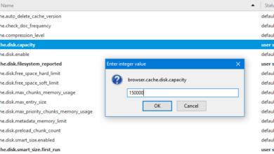 Bild von Firefox RAM-Speicher einstellen