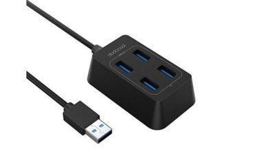 usb 3.0 hub 390x220 - Koogeek und dodocool Angebote z.B. USB 3.0 Hub, 4 USB Ports Hub für 7,79 € statt 11,97 €