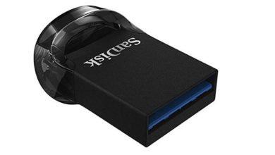 usb 390x220 - SANDISK Ultra Fit USB-Stick USB 3.1 128 GB für 19€ statt 26,98€