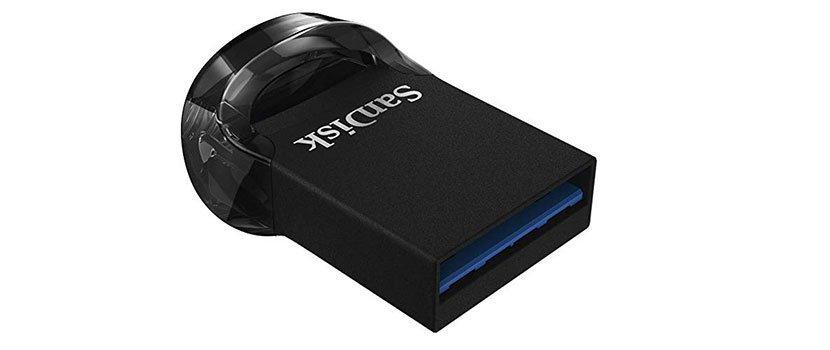 usb - SANDISK Ultra Fit USB-Stick USB 3.1 128 GB für 19€ statt 26,98€