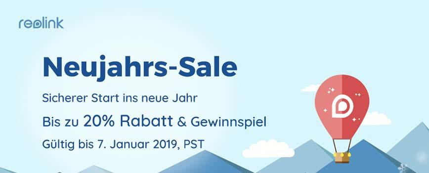 2019 reolink neujahrssale - Reolink Neujahrs-Sale mit bis zu 20% Rabatt