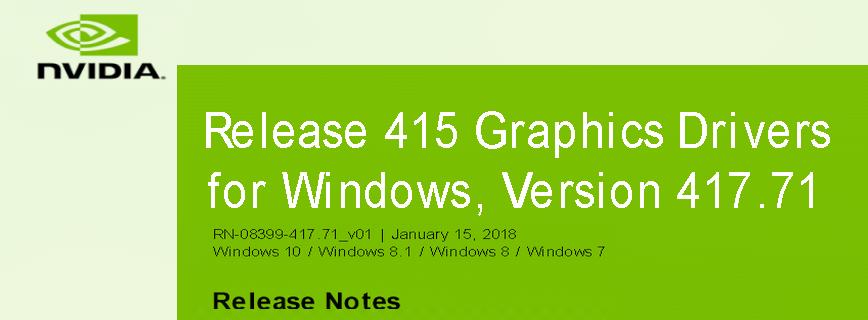 417.71 868x320 - Nvidia-GeForce-Treiber Version 417.71 für Windows erschienen