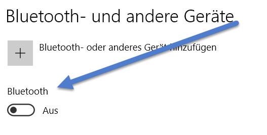bluetoth - Bluetooth funktioniert nicht bei Windows 10 – Tipps
