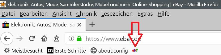 neu ohne text - Lesezeichensymbol ändern in der Lesezeichensymbolleiste im Firefox