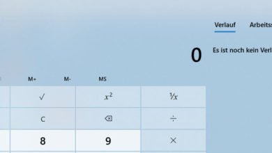tachen rechner 390x220 - Windows Taschenrechner schneller starten