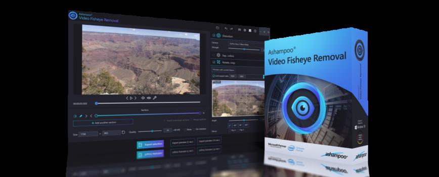 titelbild 868x350 - Ashampoo® Video Fisheye Removal - Wir verlosen 5 Lizenzen