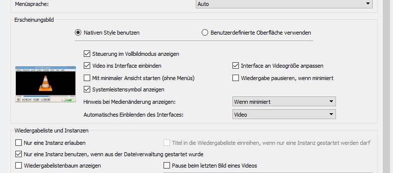 vlc 793x350 - VLC Player schneller starten lassen