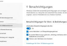 Photo of Windows Security Center Benachrichtigungen deaktivieren